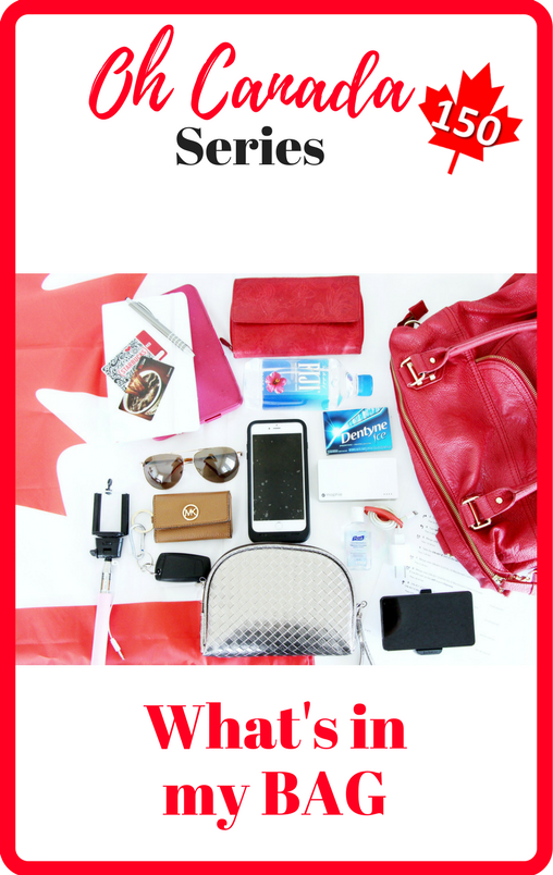 Oh Canada 150 - What's in my bag
