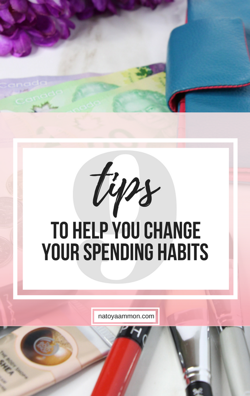 9 Tips to help you change your spending habits